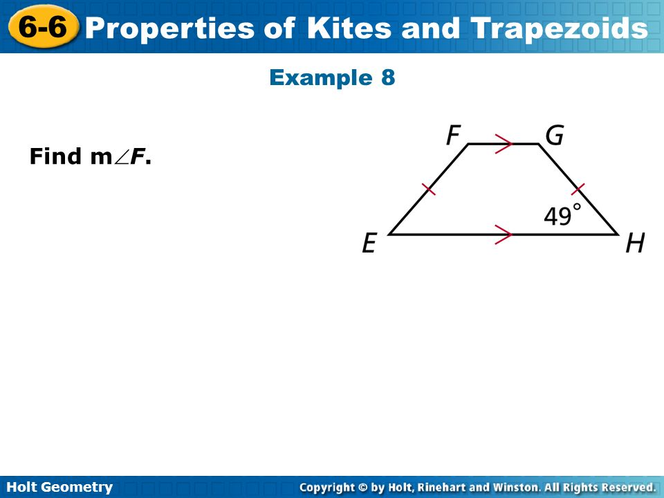 Example 8 Find mF.