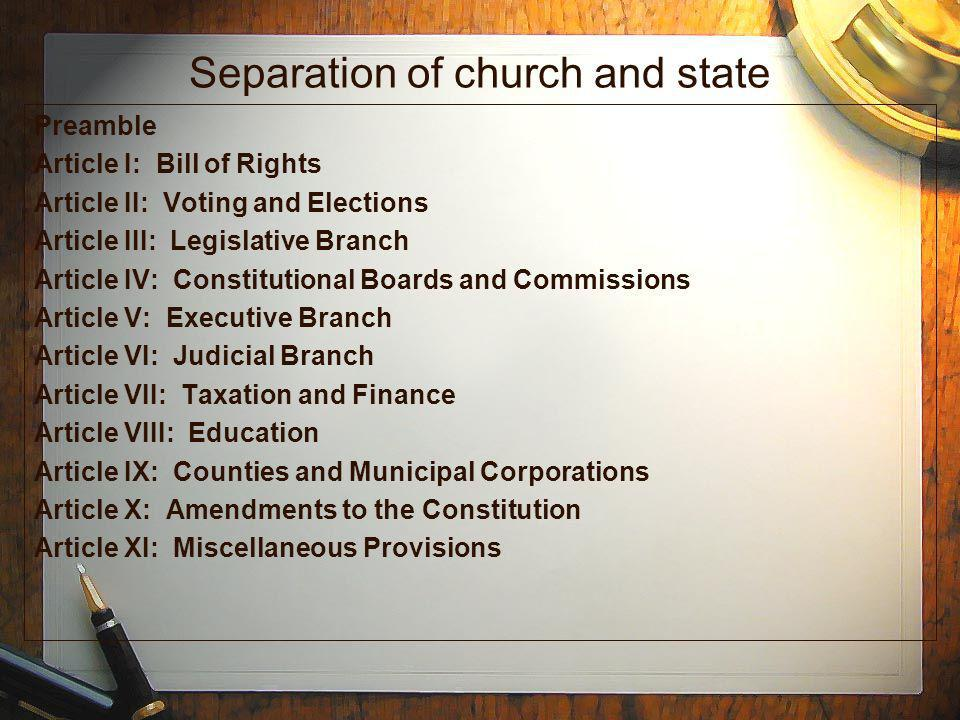 seperation of church and state essay Us government: seperation of church and state - essay example not dowloaded yet extract of sample us government: seperation of church and state tags: atheist.