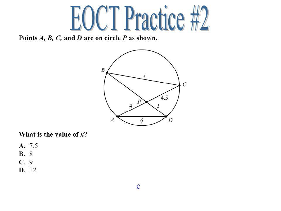 EOCT Practice #2 c