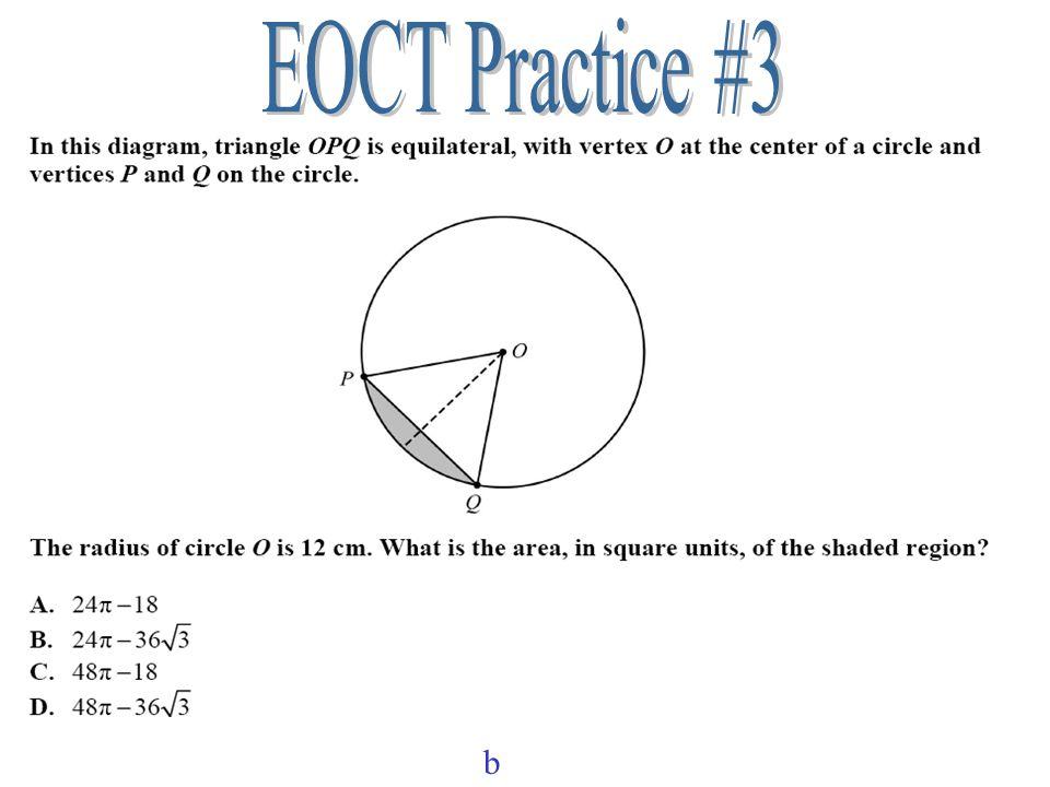 EOCT Practice #3 b