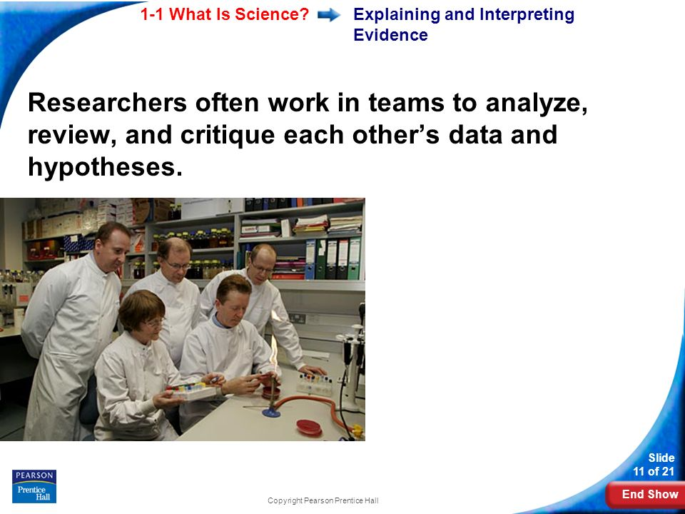 Explaining and Interpreting Evidence