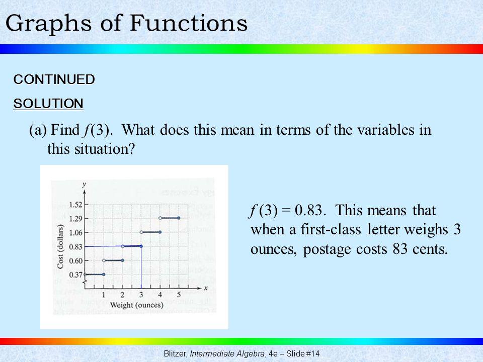 Blitzer, Intermediate Algebra, 4e – Slide #14