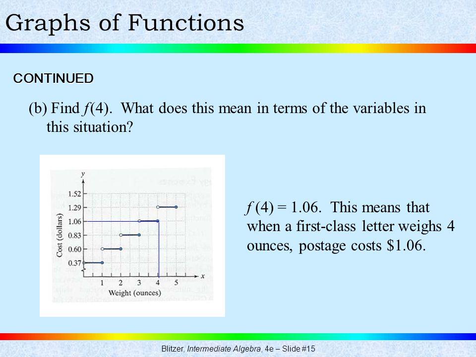 Blitzer, Intermediate Algebra, 4e – Slide #15