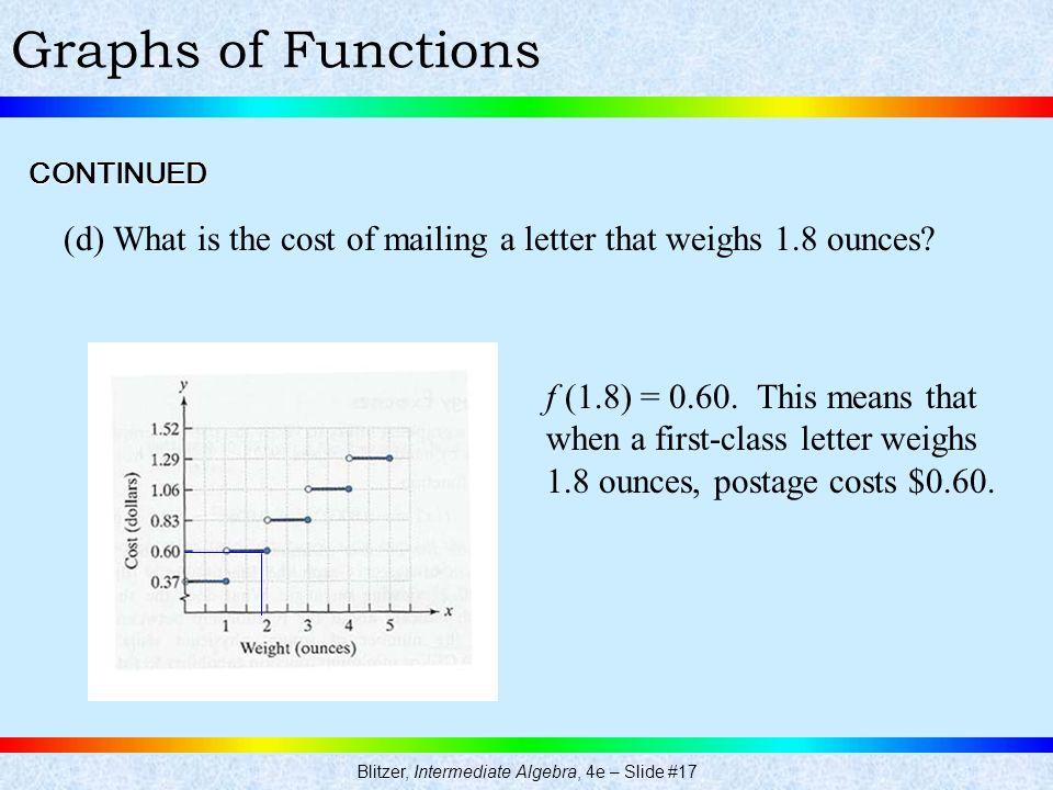Blitzer, Intermediate Algebra, 4e – Slide #17