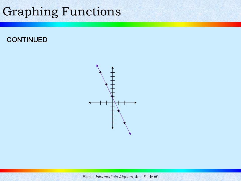 Blitzer, Intermediate Algebra, 4e – Slide #9