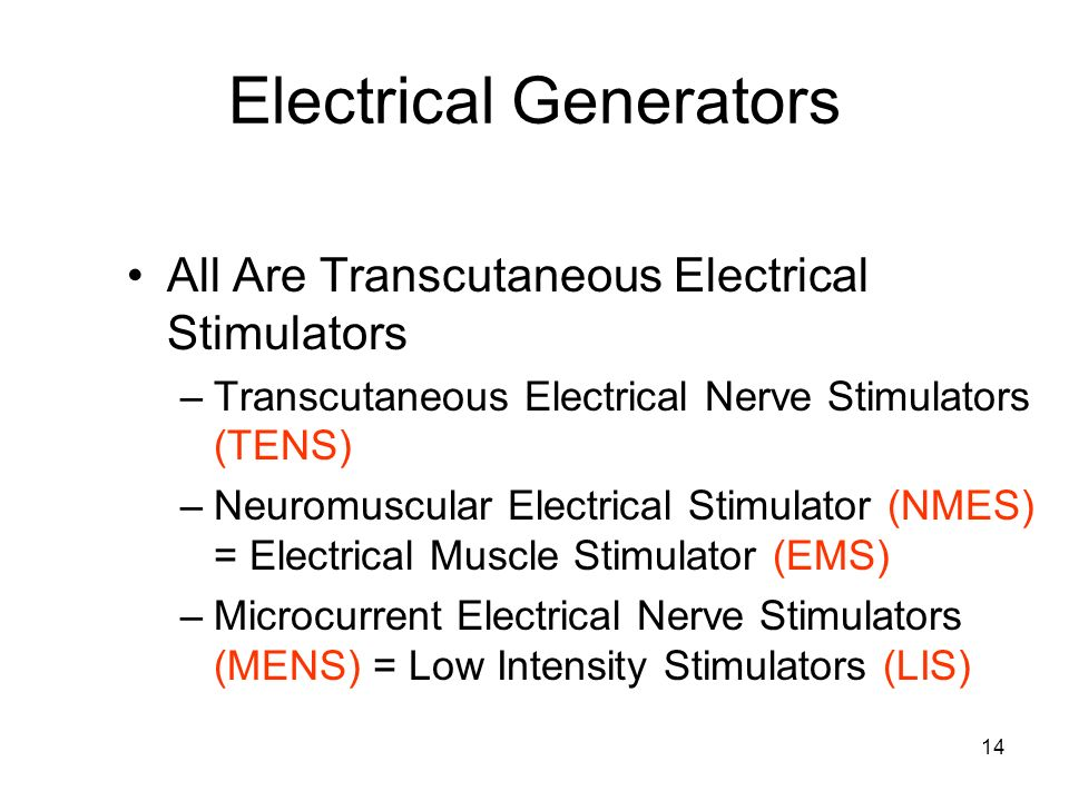 Electrical Generators