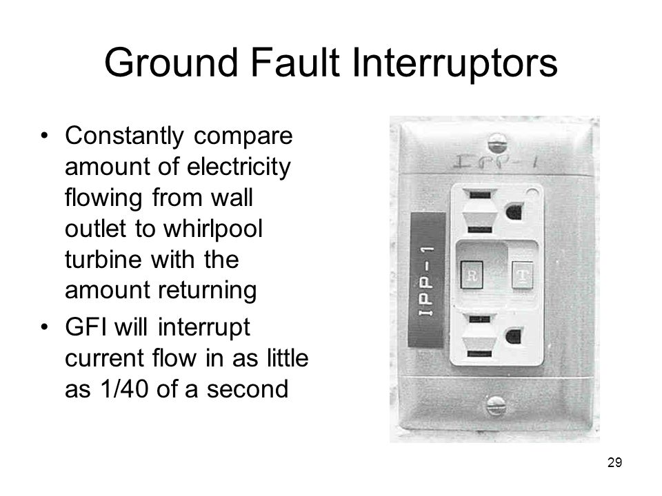 Ground Fault Interruptors