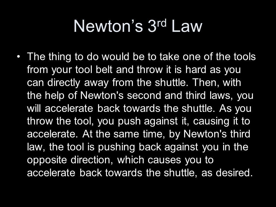 Newton's 3rd Law