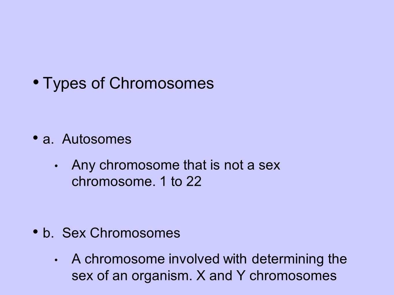 Contrast sex chromosomes with autosomes pics 53