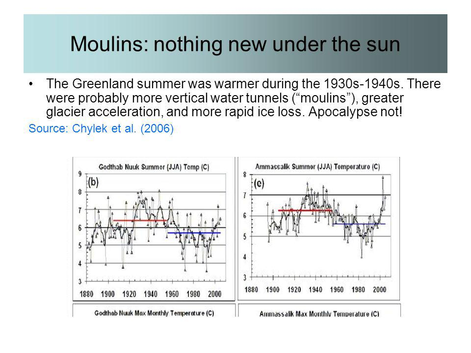 Moulins: nothing new under the sun