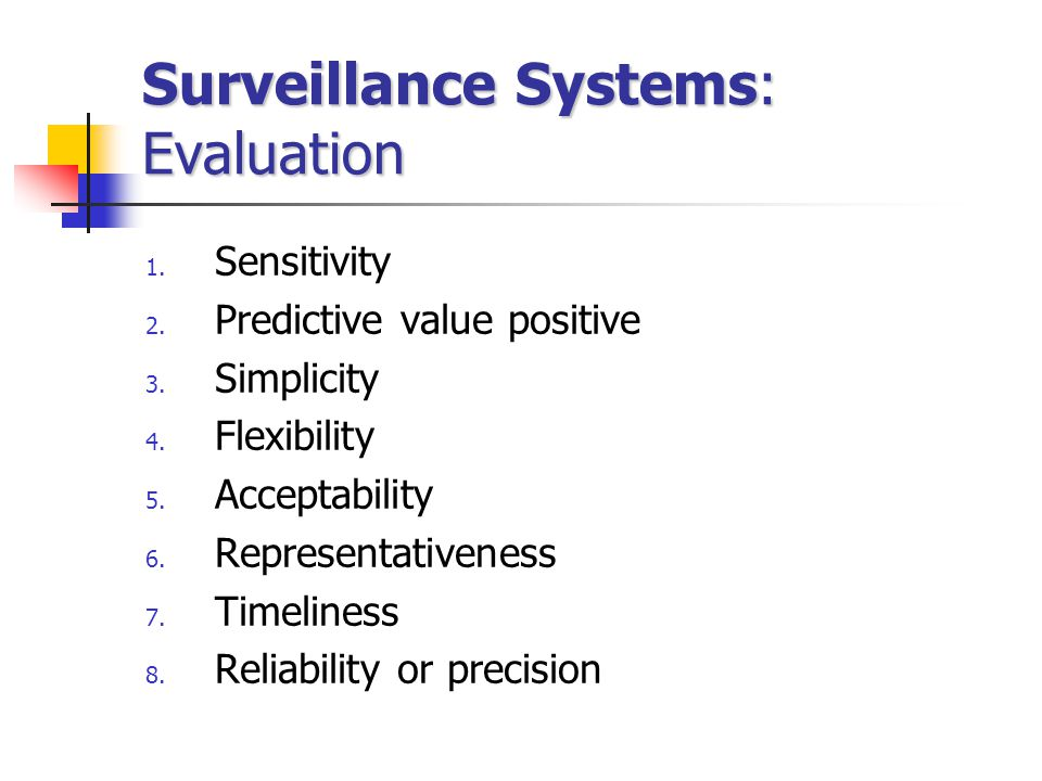 Surveillance Systems: Evaluation