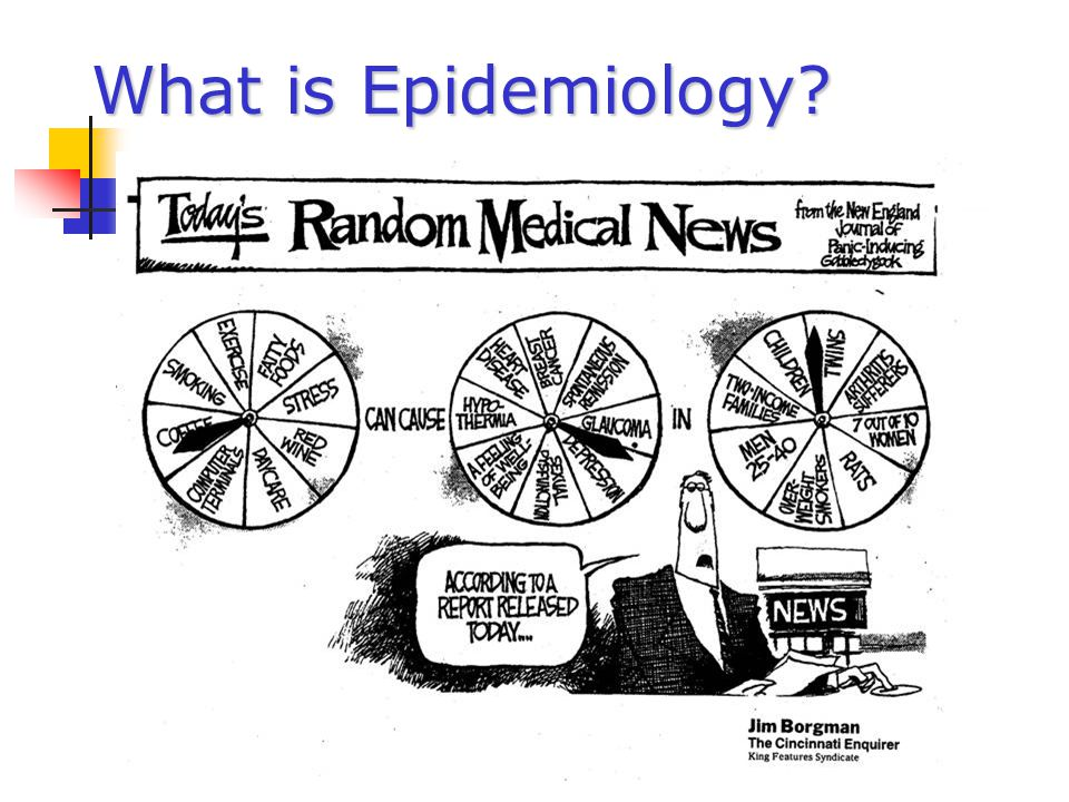 What is Epidemiology 4