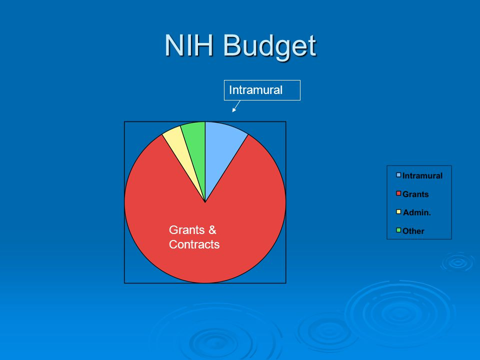 NIH Budget Intramural Grants & Contracts