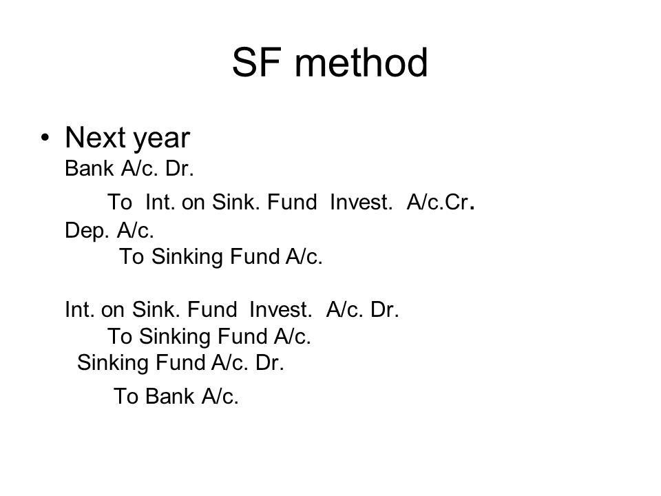 SF method