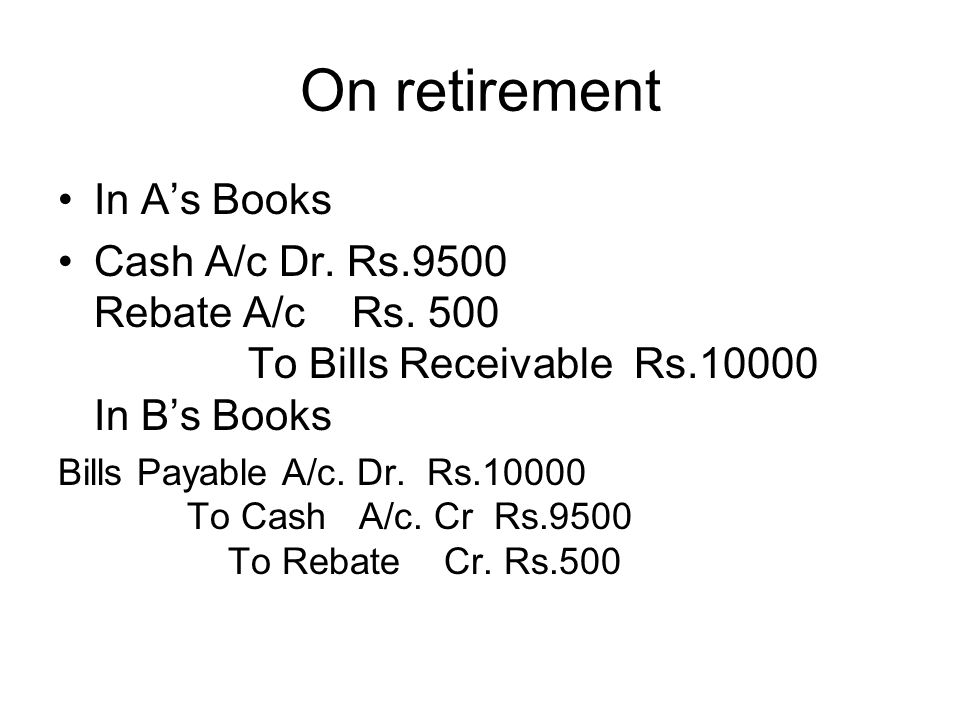 On retirement In A's Books