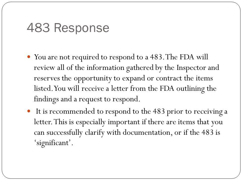 483 Response