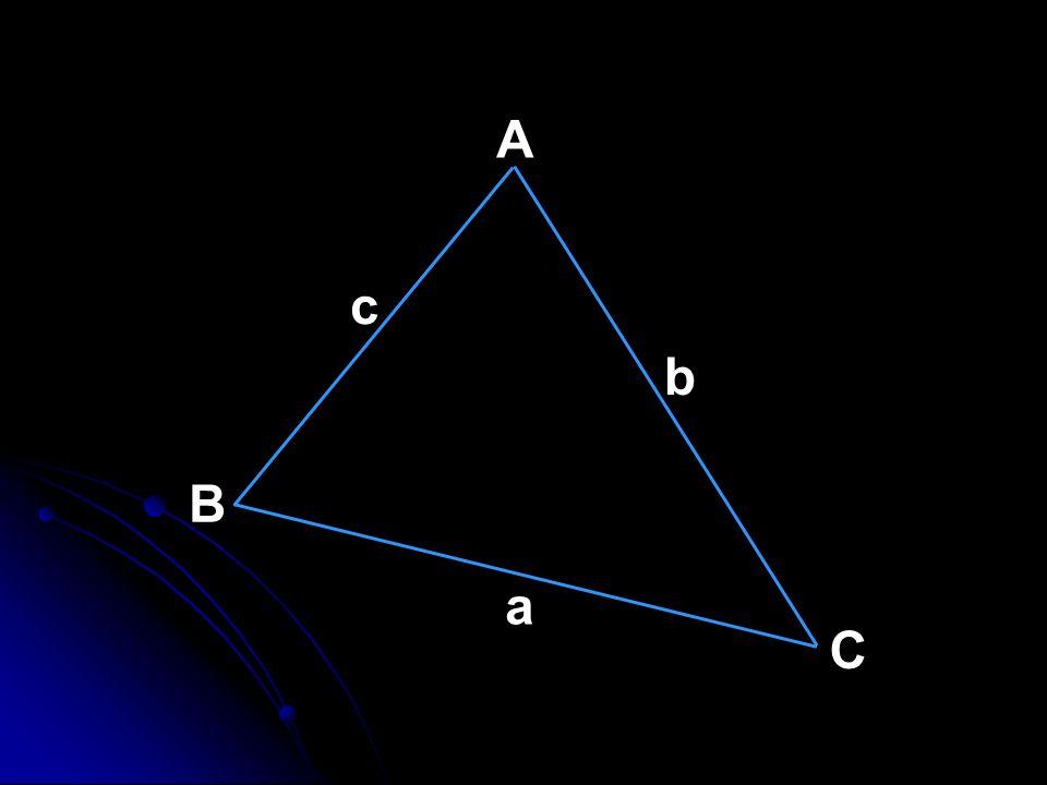A c b B a C