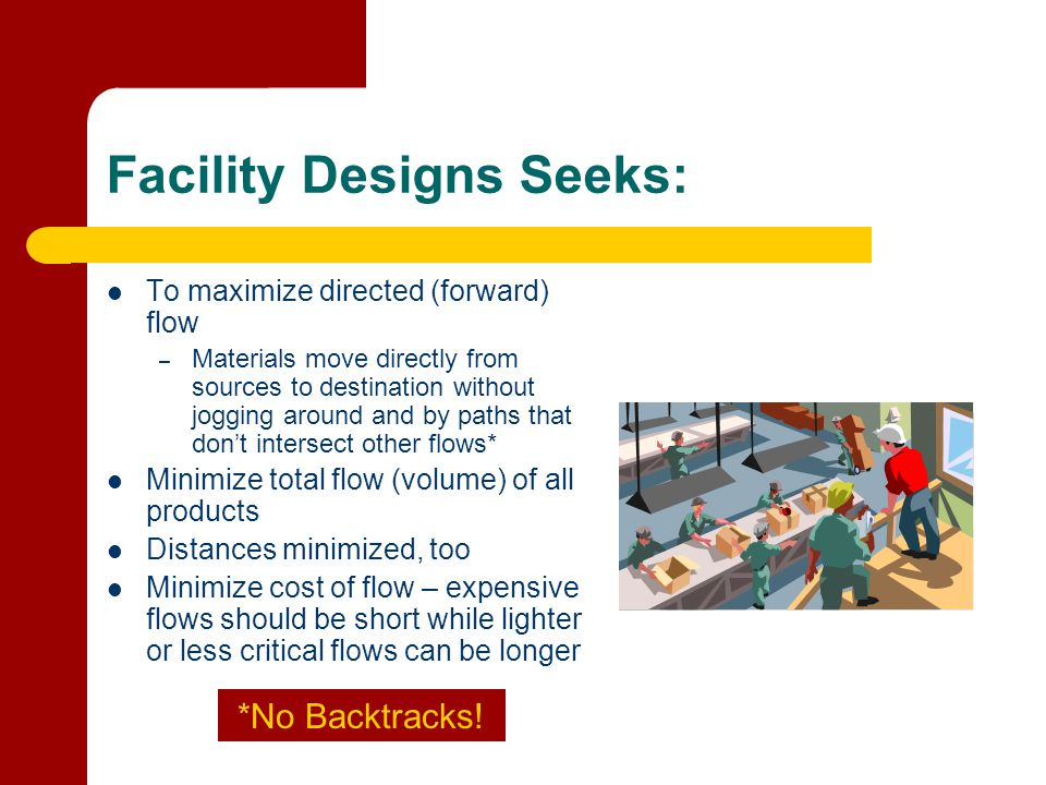 Facility Designs Seeks: