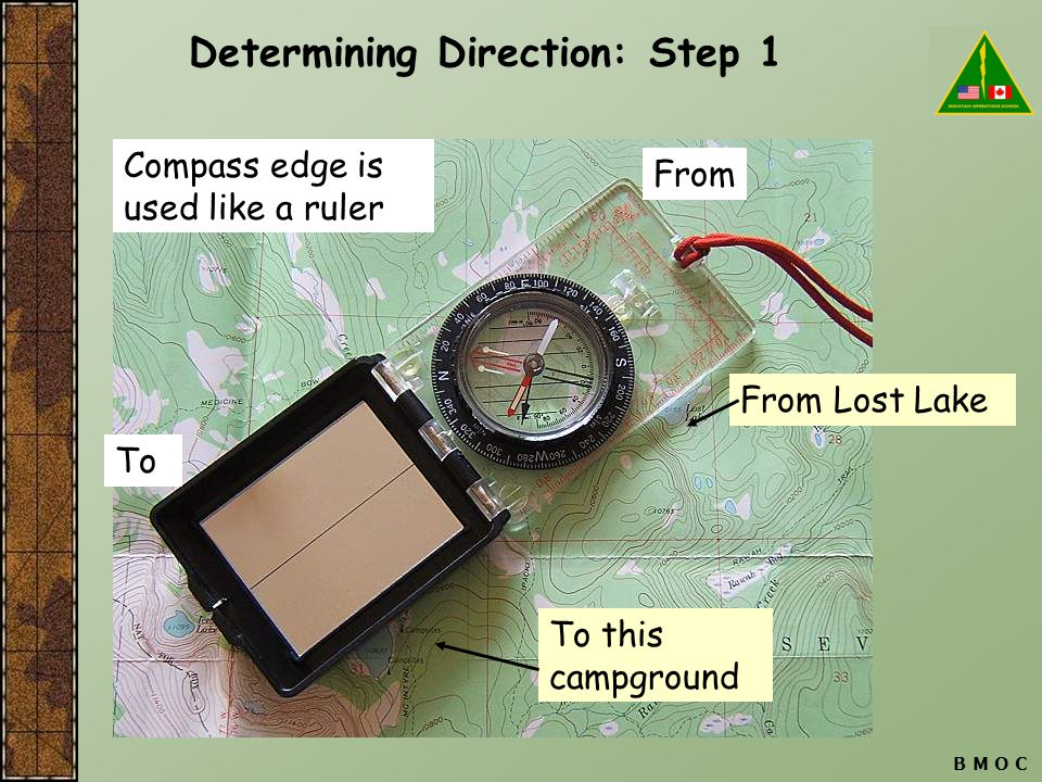 Determining Direction: Step 1