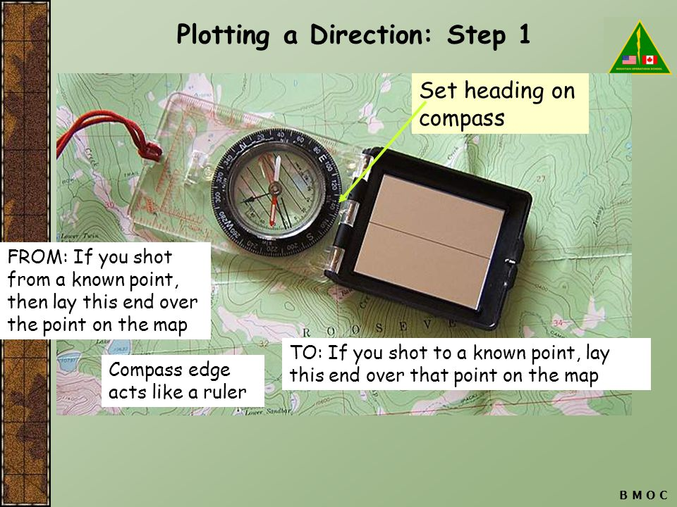 Plotting a Direction: Step 1