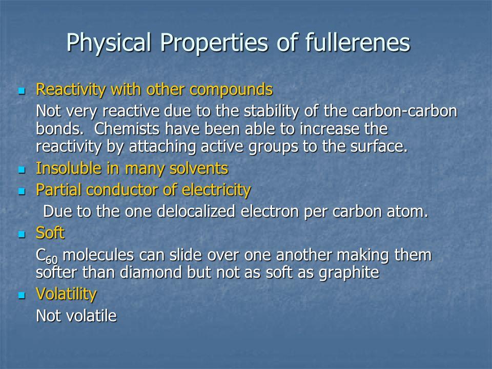 Physical Properties of fullerenes