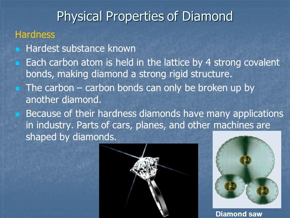 Physical Properties of Diamond