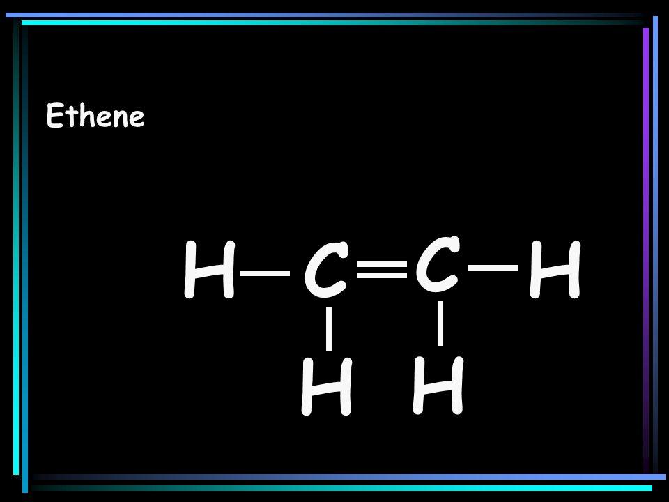 Ethene C H C H H H