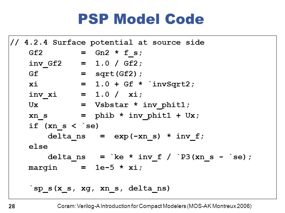 PSP Model Code // 4.2.4 Surface potential at source side