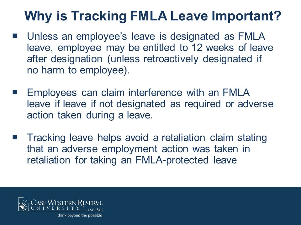 Why is Tracking FMLA Leave Important