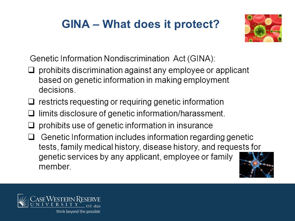 GINA – What does it protect