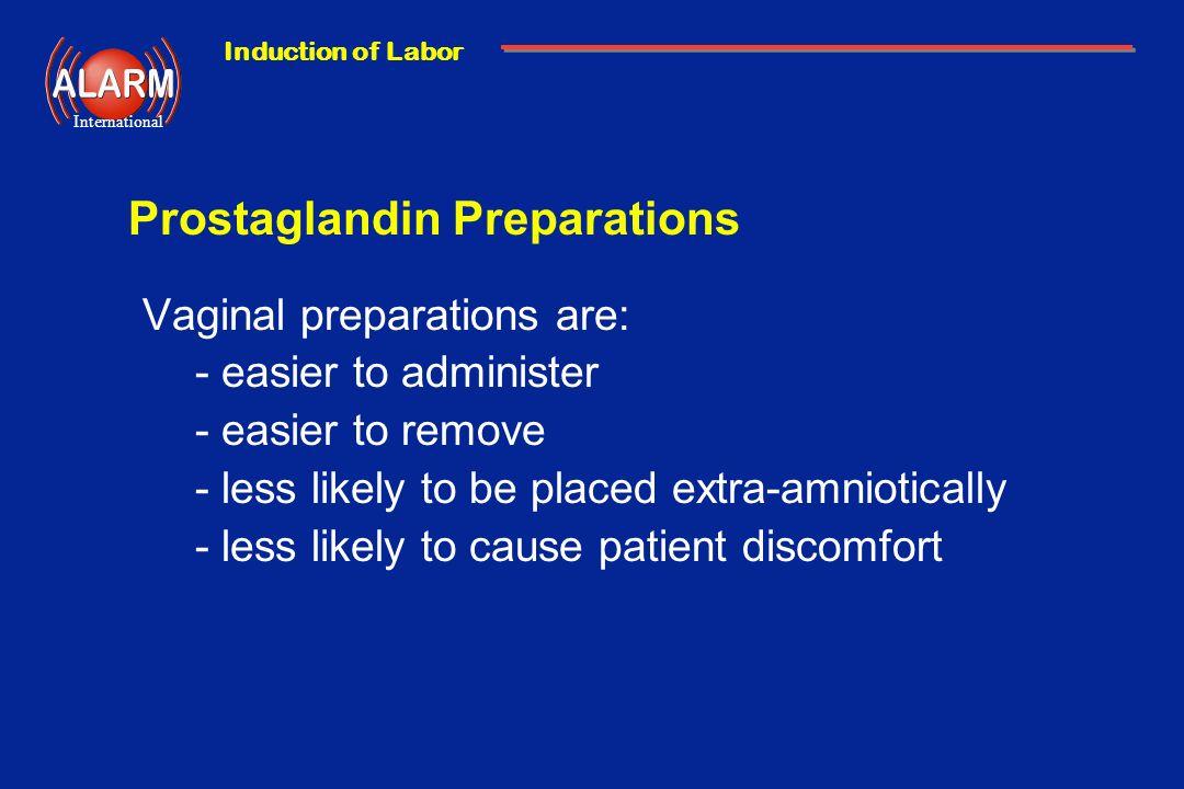 Prostaglandin Preparations