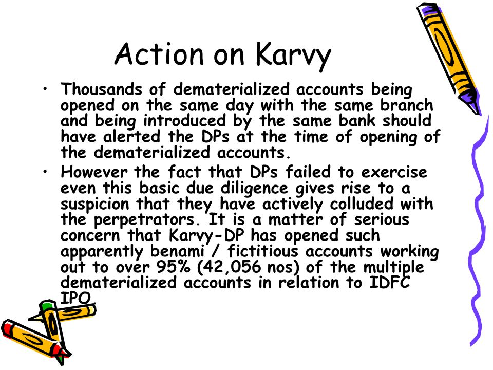 Action on Karvy