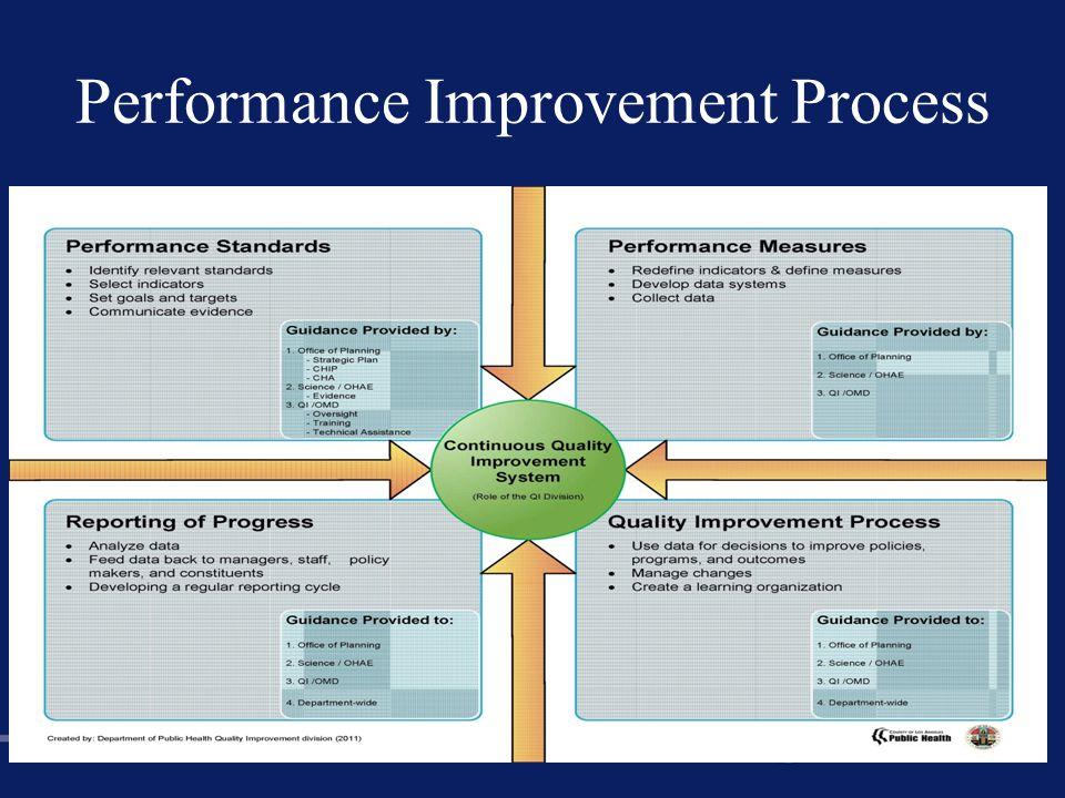Performance Improvement Process