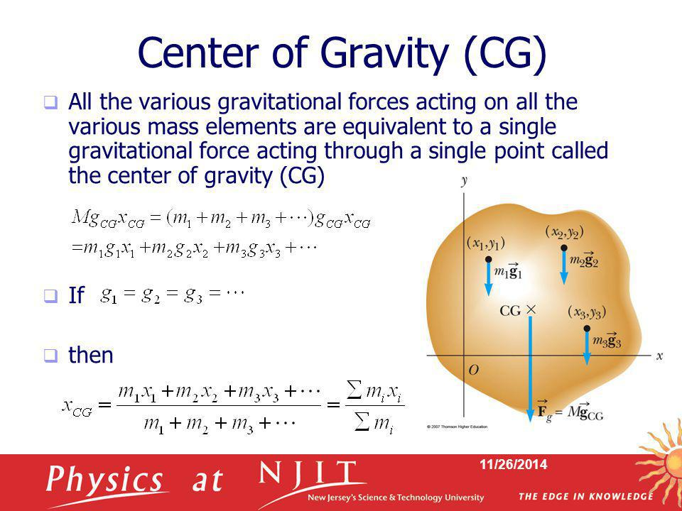 Center of Gravity (CG)