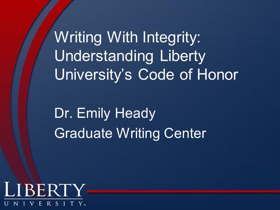 Dr. Emily Heady Graduate Writing Center