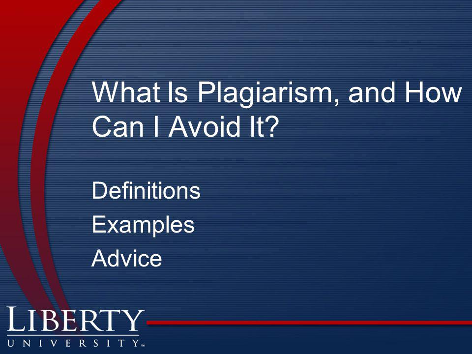 What Is Plagiarism, and How Can I Avoid It