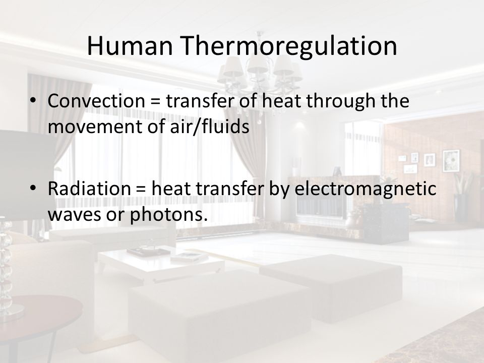 Human Thermoregulation