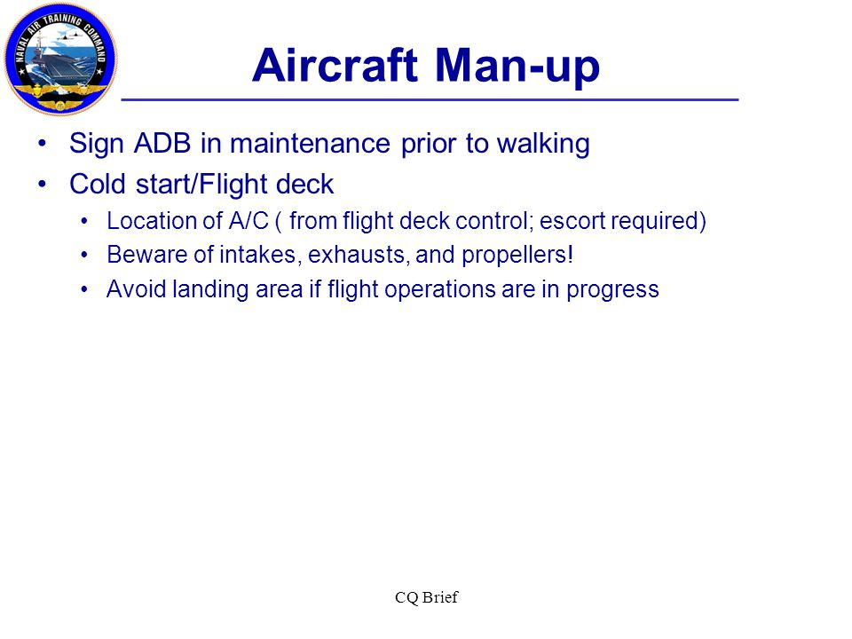 Aircraft Man-up Sign ADB in maintenance prior to walking