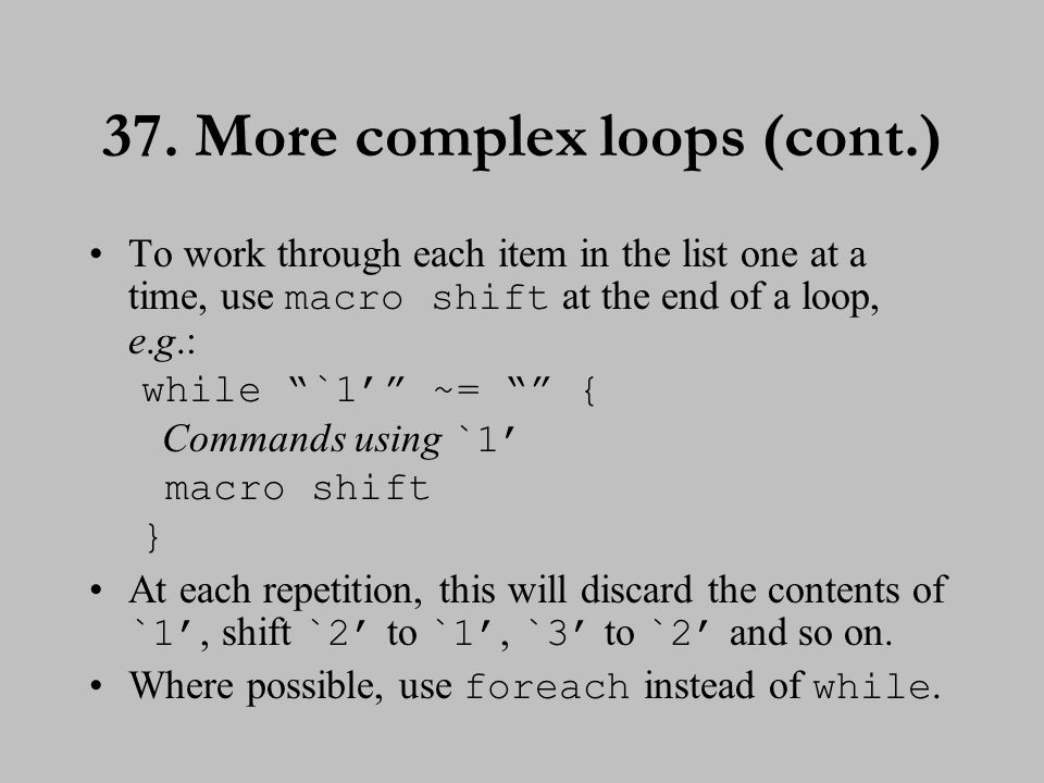 EXERCISE 3 38. Using loops in regression