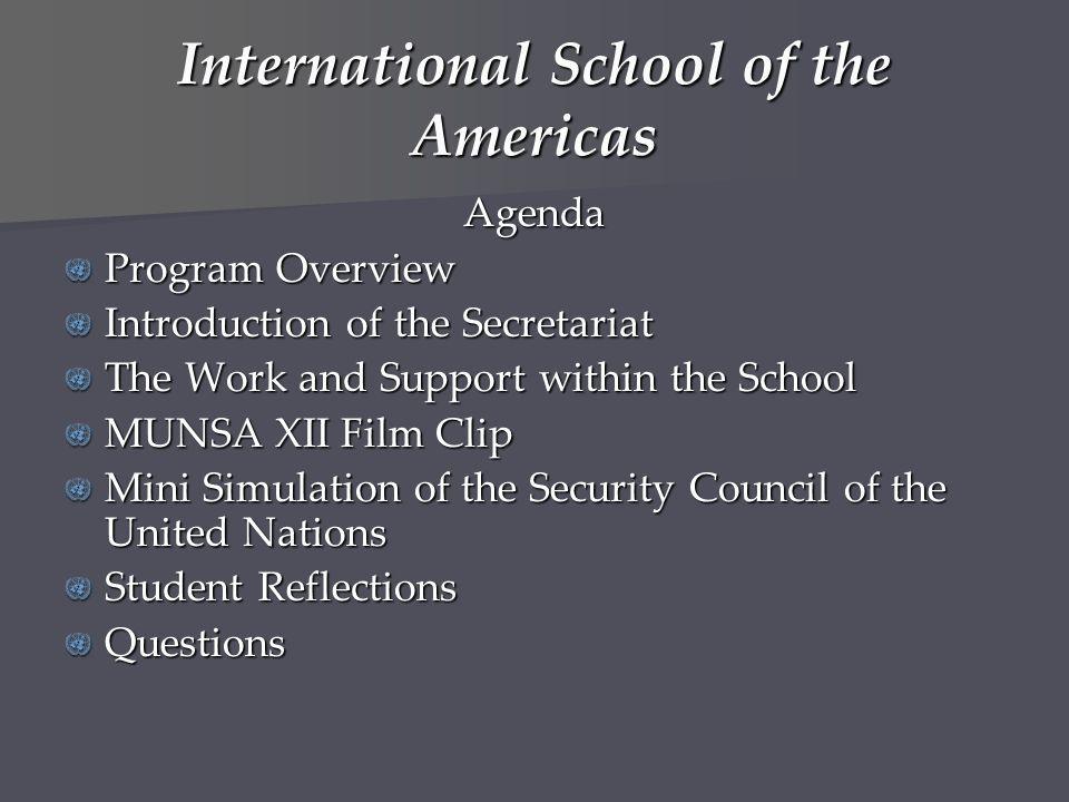 International School of the Americas