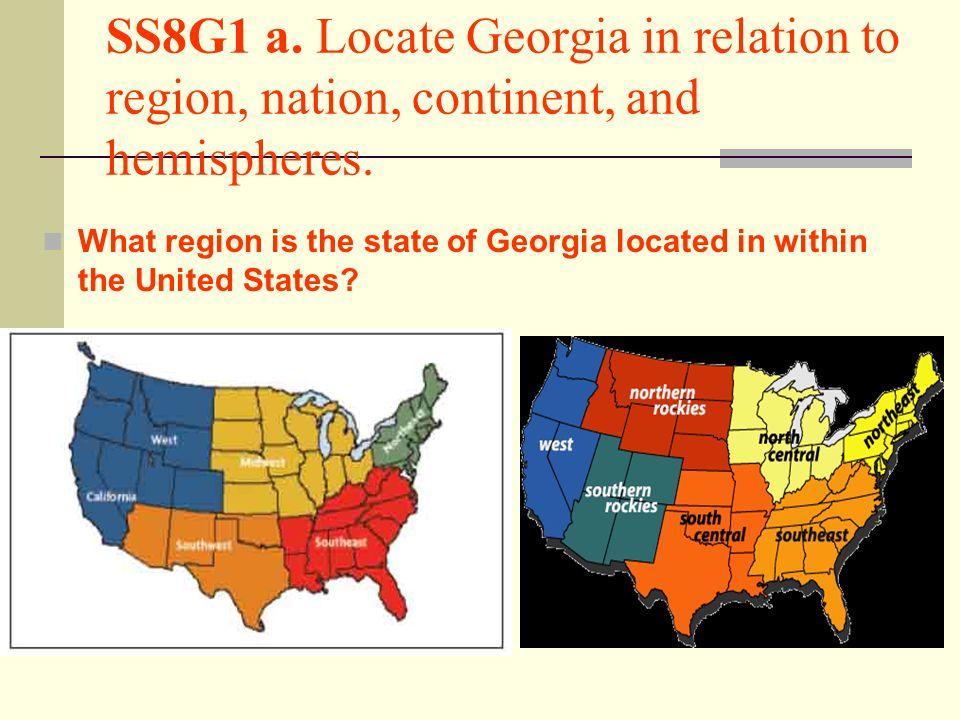 what region is georgia in