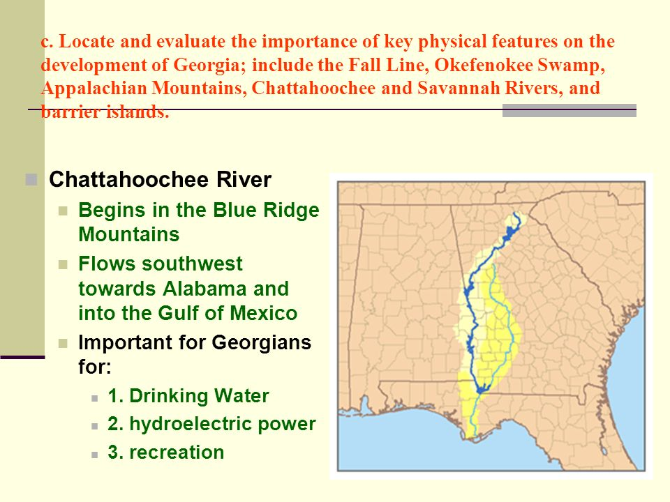 Chattahoochee River Begins in the Blue Ridge Mountains