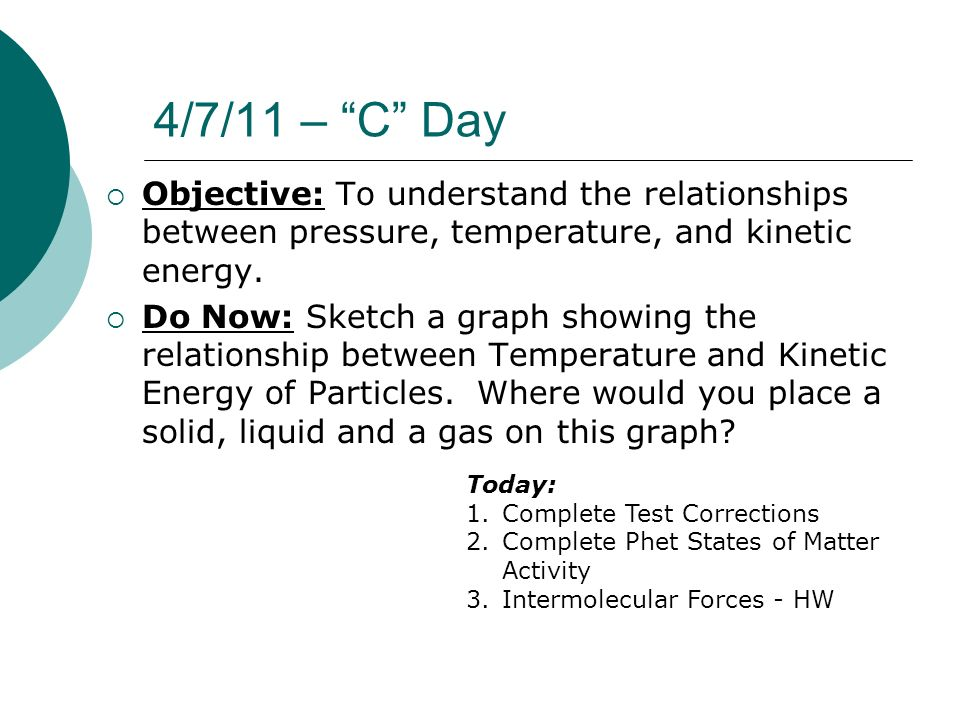 relationship between temperature and volume of liquid