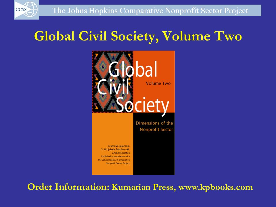 Global Civil Society, Volume Two