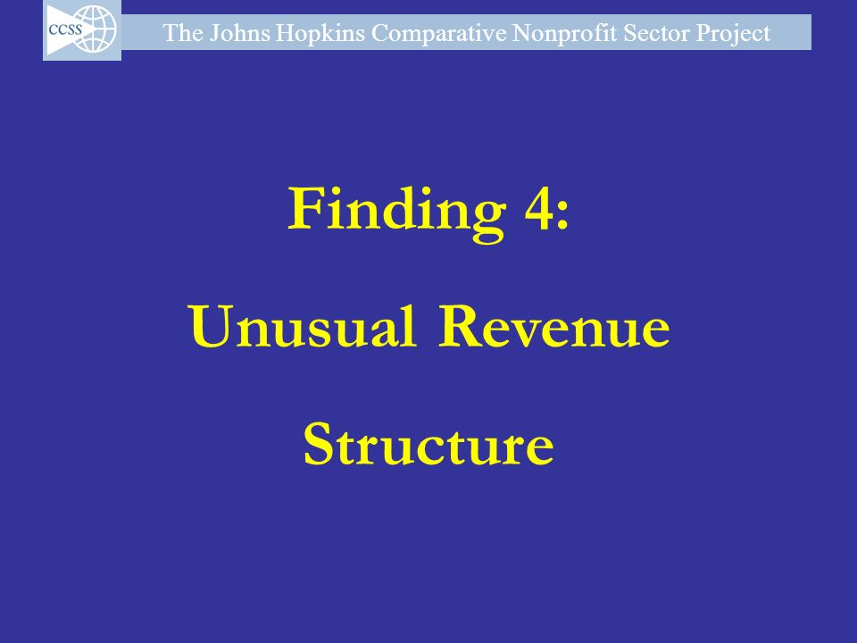 Finding 4: Unusual Revenue Structure