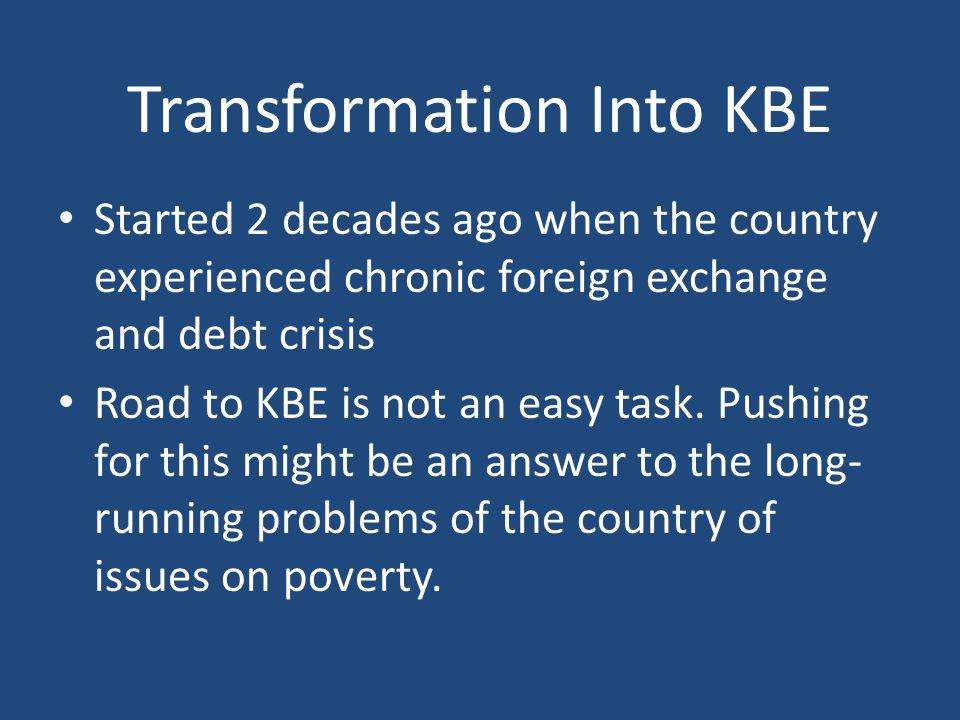 Transformation Into KBE