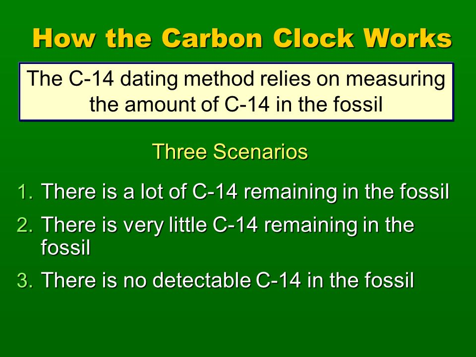 what is the age range for carbon dating What about carbon dating  'infinite' age total carbon-12 and -14 in specimen  outside the range of recorded history, .