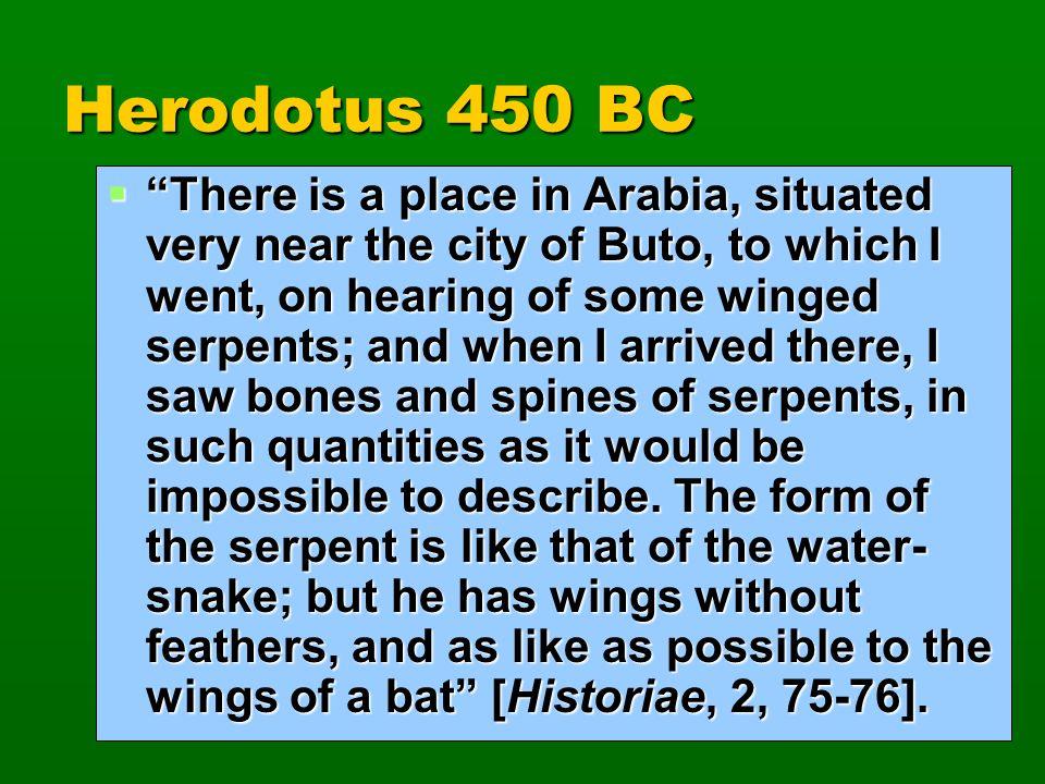 Herodotus 450 BC