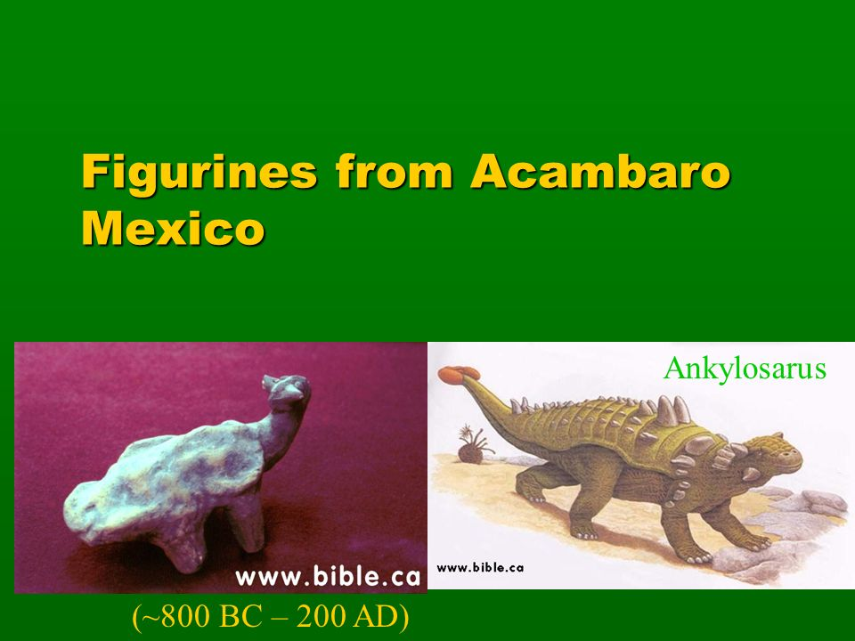 Figurines from Acambaro Mexico