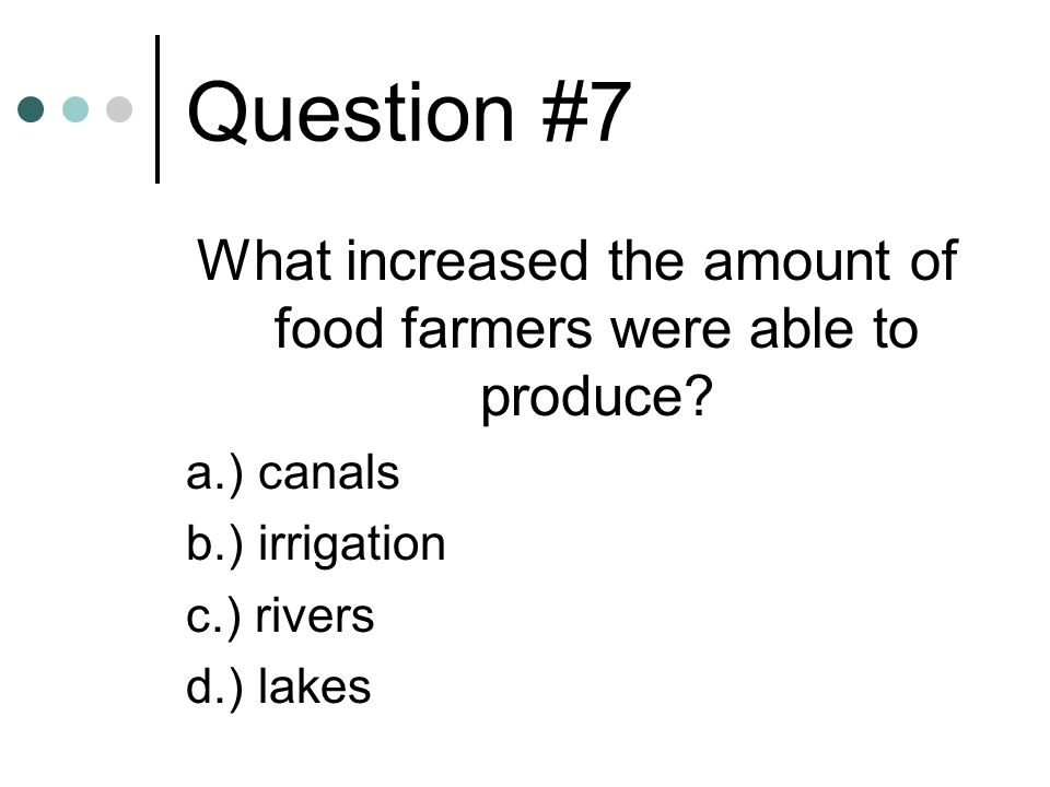 What increased the amount of food farmers were able to produce